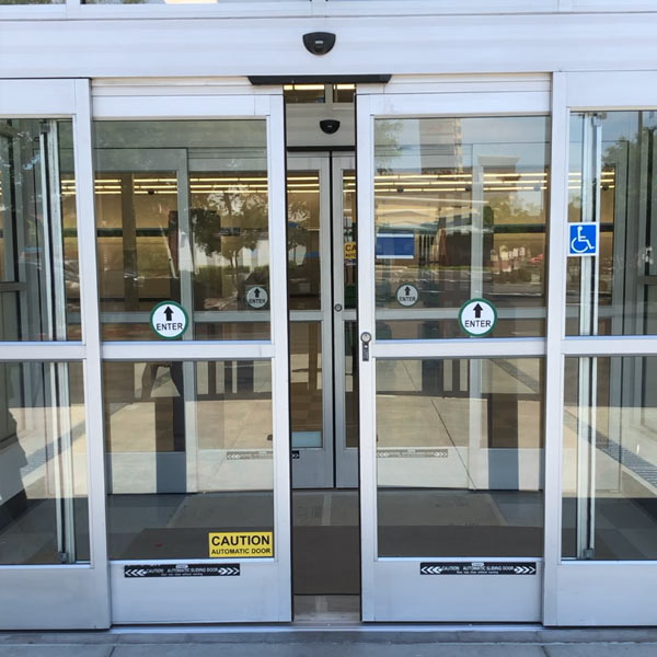 Automatic door repaired for a big box store in Livermore