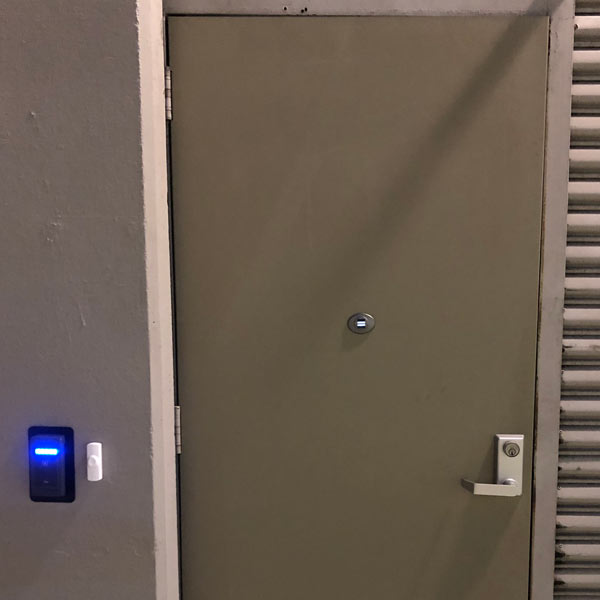 ACS with card reader installed for business in Dublin, California