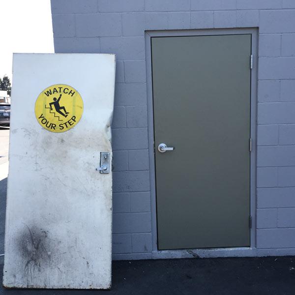 Exterior door replacement in Livermore