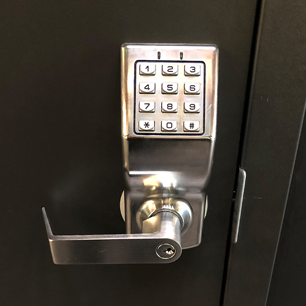 an installed access control system