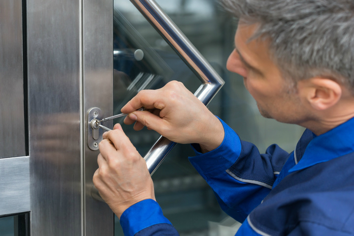 A fully licensed commercial locksmith