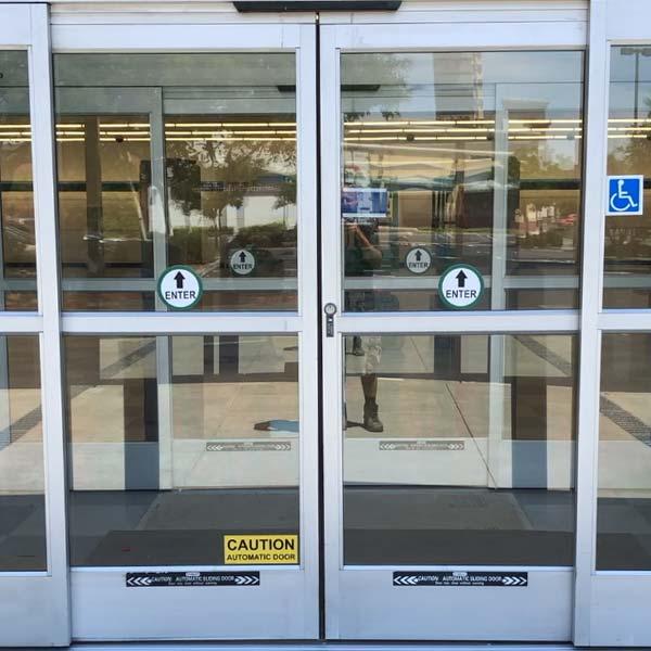automatic door installed in Walnut Creek