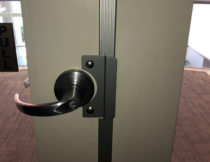our CLAD team installed this commercial door in Livermore
