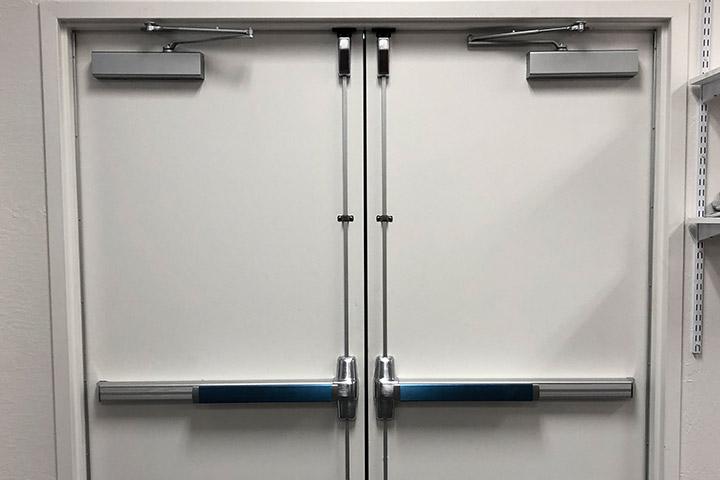 what is a class b fire door?