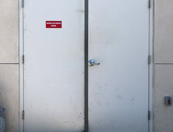 our pros can get your metal doors fixed or reinforced quickly