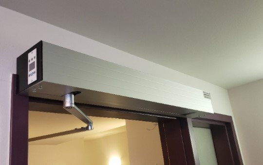 a door operator installed by our professionals